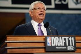 Tras el draft, la temporada de NBA corre peligro
