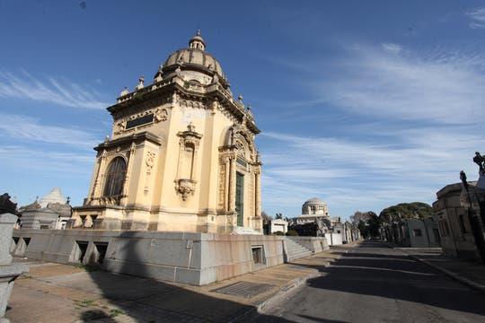 El Panteón español, similar al que alberga, en el Escorial, a los reyes de España. Foto: lanacion.com / Guadalupe Aizaga