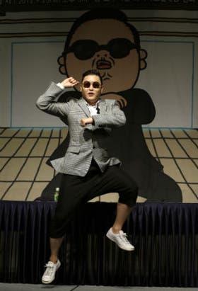 El rapero surcoreano Psy popularizó el baile Gangnam Style