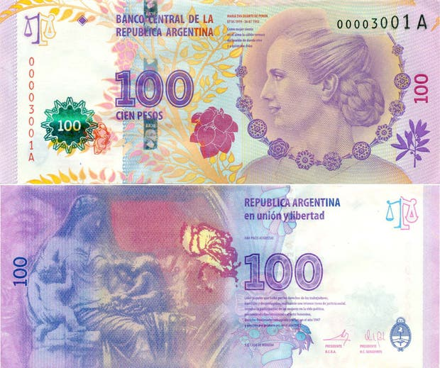 Los flamantes billetes