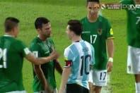 El capitán de Bolivia contó qué pasó en el 'no' saludo con Messi y la disputa de cuatro jugadores por la camiseta de Leo
