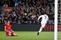 Con un jugador menos, Real Madrid dio vuelta el clásico español y ganó en el Camp Nou
