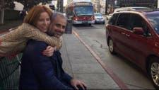 Jorge Rial y Agustina Kämpfer, en uno de sus tantos viajes de pareja