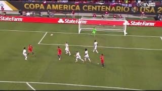 El primer gol de Chile