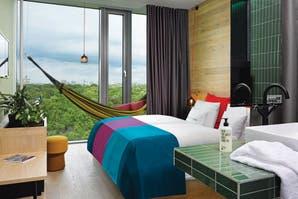 Un hotel inspirado en la naturaleza