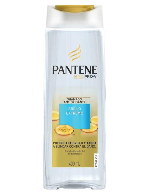 Shampoo Max Pro-V Brillo Extremo ($88, Pantene).