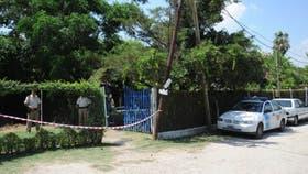 El lugar de un rastrillaje en 2010 en las calles 13 C y 170 de Berisso, donde por orden judicial se llevó a cabo una búsqueda de los restos del estudiante Miguel Bru