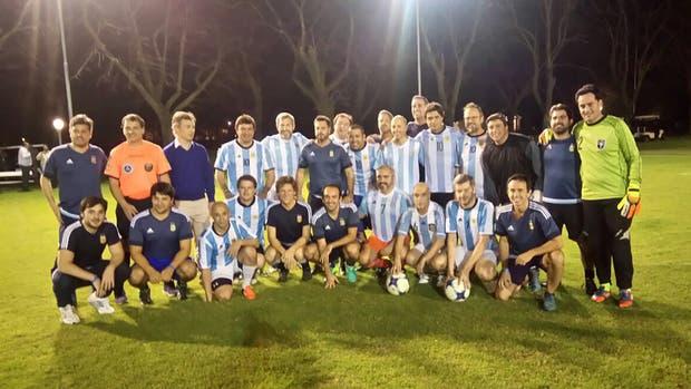 El macrismo jugó un partido de fútbol en la quinta de Olivos