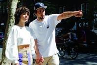Cala Zavaleta y Dante Spinetta, de paseo por Nueva York