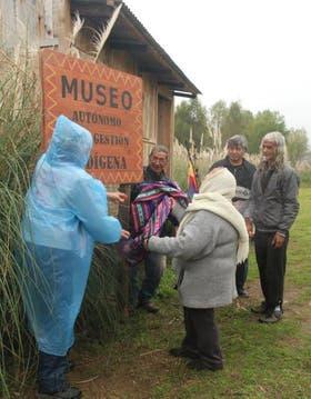 Tanto el Museo Autónomo de Gestión Indígena como el vivero y el invernadero de la comunidad de Punta Querandí están bajo amenaza