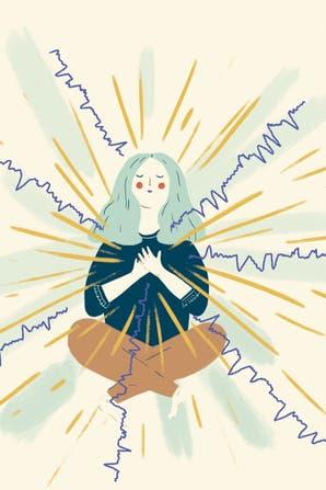 Theta Healing: cómo es el método para sanar emociones con ondas