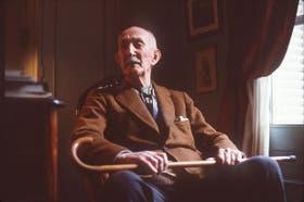 Bustillo, en su casa de la calle Rodríguez Peña. Murió en 1982