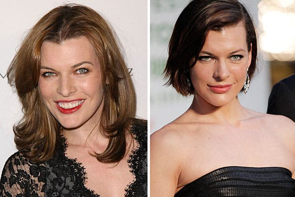 El corte de pelo la hace mucho más sexy a Mila Jovovich, no?. Foto: Archivo