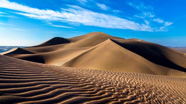 Lut Desert. La Unesco estudia incluir en su inventario bienes culturales para proteger. Naturaleza. Foto: Sitio oficial de la Unesco