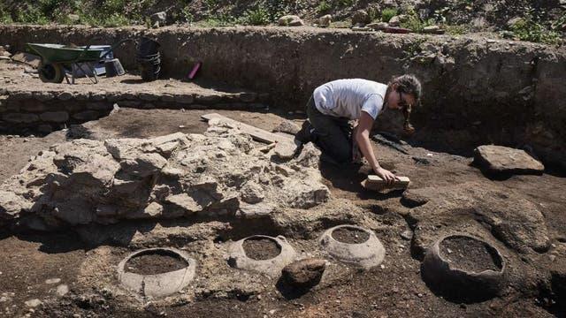 Las excavaciones empezaron en abril y continuarán hasta diciembre.