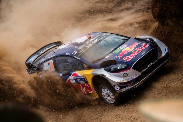 El Ford Fiesta WRC
