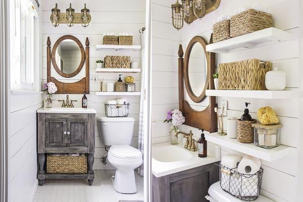 Baños Estilo Rustico Fotos:IDEAS: Hermosos baños de estilo rústico