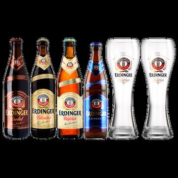 Cervezas Erdinger.