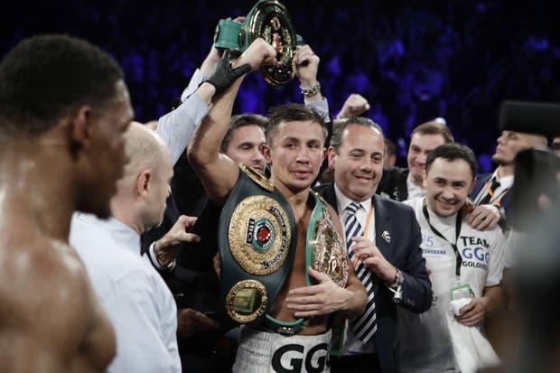 Gennady Golovkin, tras vencer a Danny Jacobs