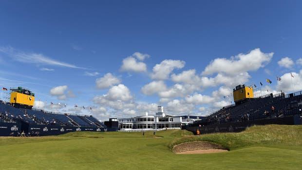 El hoyo 18 del Royal Birkdale Golf Club; desde el jueves, escenario del British Open