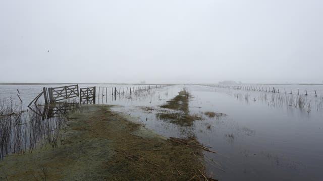 Las últimas precipitaciones agravaron la crisis hídrica en una gran región del centro bonaerense