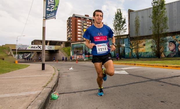 Luis Molina, ganador de los 5km