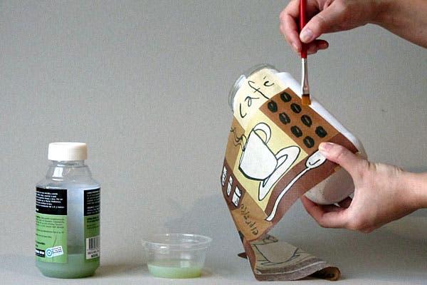 C mo decorar frascos revista ohlal revista ohlal for Como decorar botes de cristal para la cocina