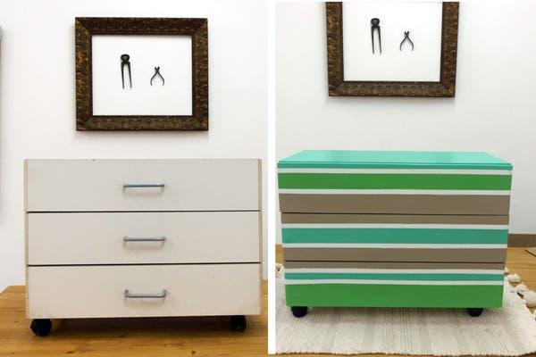 Renov tus muebles de f rmica o melamina revista ohlal - Pintura para muebles de melamina ...