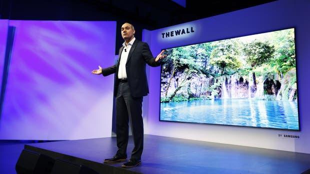 The Wall es el nombre del nuevo televisor de 146 pulgadas de Samsung