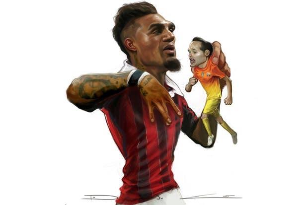 El triunfo de Milan dejó secuelas en Barcelona