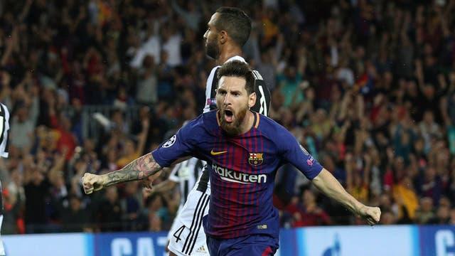 Messi se desquitó: nunca le había hecho un gol a Buffon