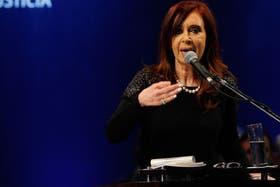 Cristina Kirchner habló de la tragedia de Castelar