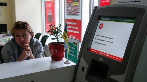 El Banco Nacional de Ucrania fue alcanzado ayer por el ciberataque