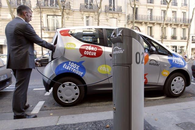 Los autos eléctricos podrían ayudar a reducir las emisiones en la ciudad