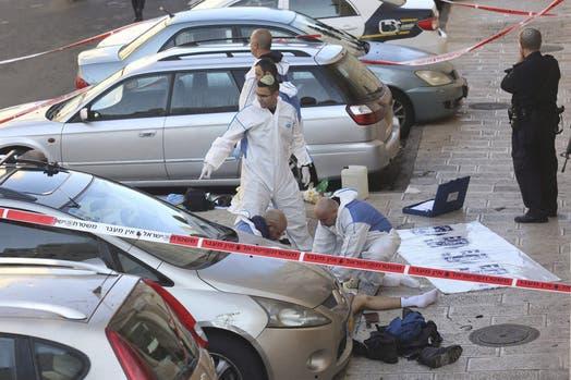 atentado Jesuralén Israel sinagoga muertos heridos