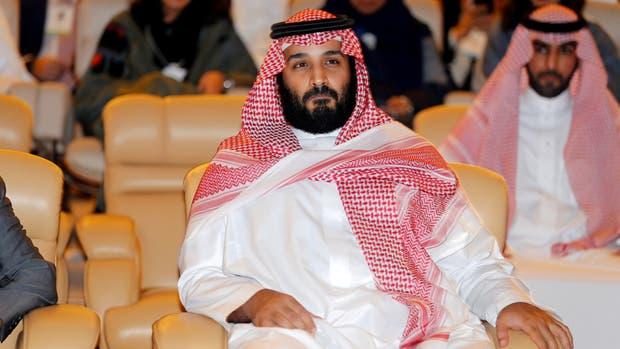 El príncipe heredero de Arabia Saudita, Mohammed ben Salma