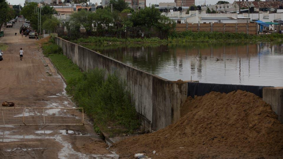 En Concordia, la más afectada por el fenómeno, el río tiene una profundidad de 15,86 metros. Foto: LA NACION / Aníbal Greco