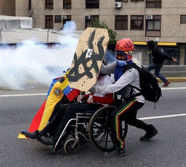 Caracas fue ayer escenario de nuevas protestas