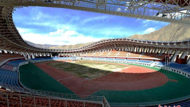 El estadio del club Lhasa Chengtou
