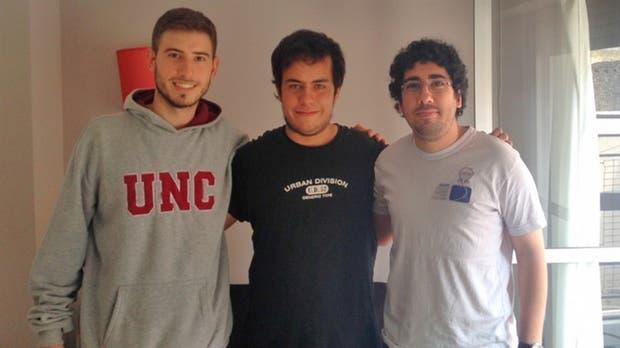 Los tres estudiantes de la Universidad de Córdoba