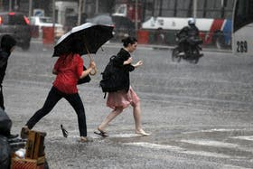 La tormenta de Santa Rosa llega cada año cerca del 30 de agosto