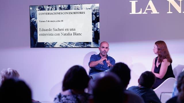 Eduardo Sacheri, en la Feria del Libro