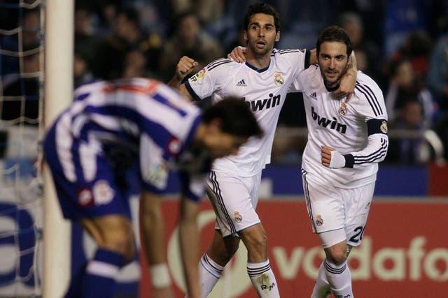 Higuain le dio el triunfo a Real Madrid