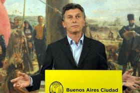 "Macri dijo que, como servidor público ""necesita descansar unos días"""