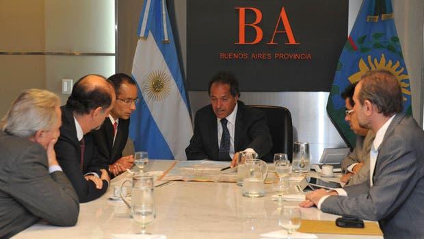 Scioli se reunió con Marcelo Odebrecht en enero de 2013
