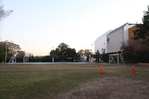 Angeles Rawson desapareció después de su clase de gimnasia en el predio del mismo Ceamse en Cramer y Concepcion Arenal. Foto: LA NACION / Matias Aimar