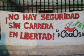 La marcha de pedido de justicia por Fernando Carrera