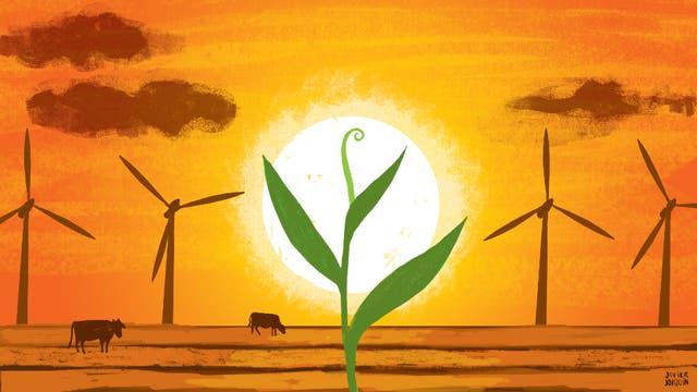 Según el cálculo oficial, con la primera licitación de energías limpias se dejarían de enviar a la atmósfera unas dos millones de toneladas de dióxido de carbono