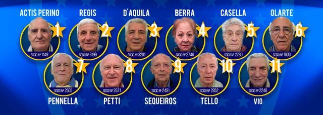 Los 11 socios vitalicios que homenajeó Boca