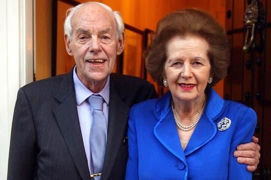 Junto a su marido, Denis, el 2 de junio de 2003. Denis falleció poco tiempo después. Foto: Archivo